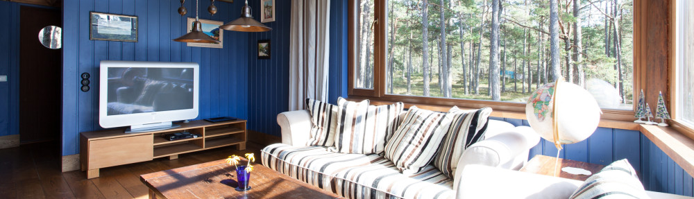 accommodation at coast Western Estonia