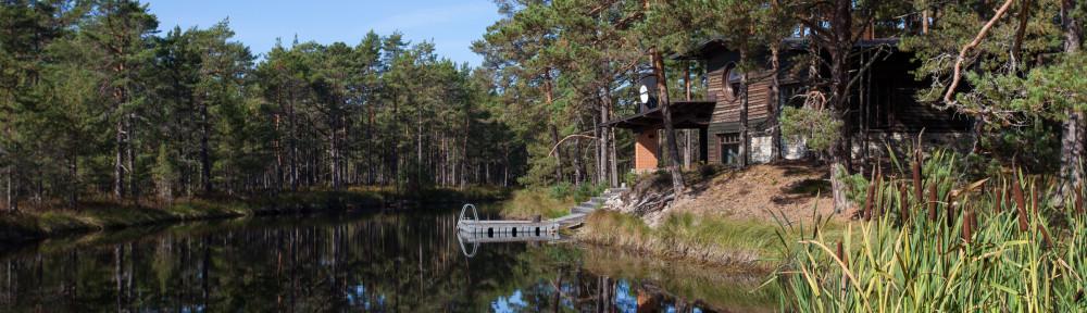 accommodation at coast Western Estonia